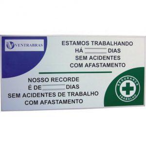 Controle CIPA de dias sem acidentes - CIPA-04