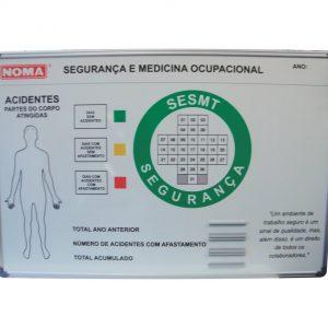 Gestão visual CIPA para segurança e medicina ocupacional - CIPA-12