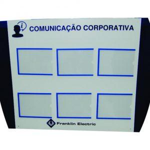 Quadro para Comunicação Interna, Endomarketing e Gestão Visual - GISO-23