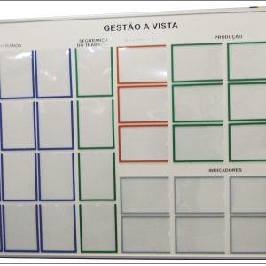 Quadro para Controle de Indicadores por Setores com Gestão Visual - GISO-25