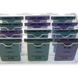 Caixa para cartões T com divisórias PACR-42