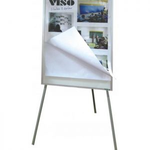 Quadro Branco Estilo Flip Chart para Papeis - QBRV-05
