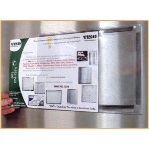 Porta Documentos - Expositor de informações para Gestão Visual VTEC-03